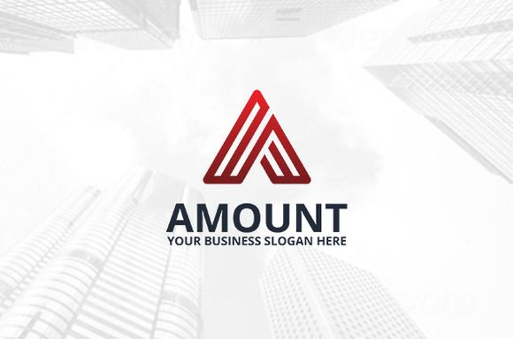Amount Logo Template by atsar on Creative Market