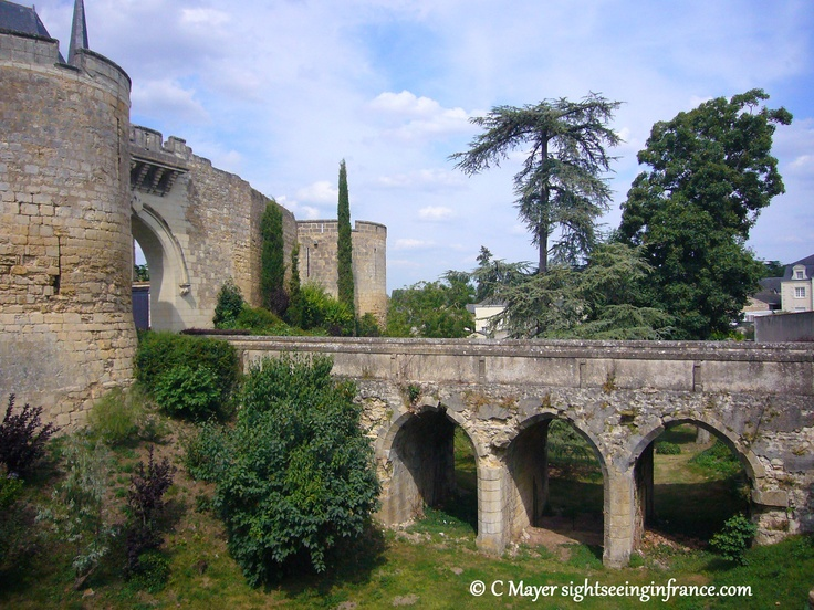 Château d'Angers ♡ Sightseeing in France ♡ http://www.sightseeinginfrance.com…
