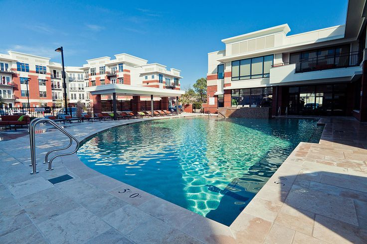 Radius Apartments' saltwater pool. www.RadiusApartments.com