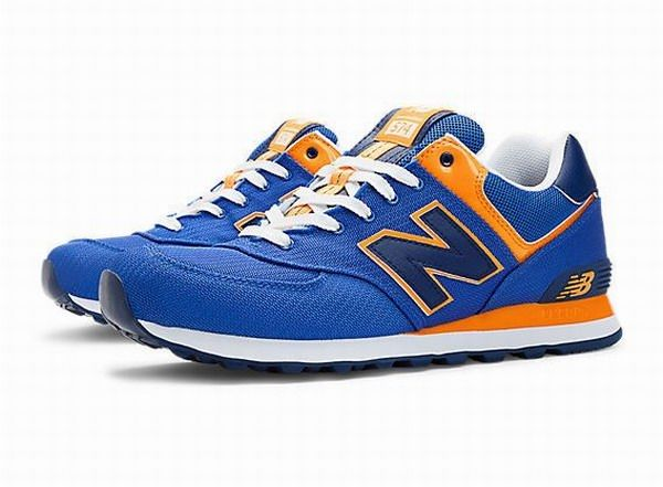 New Balance 574 Passport Blue Running Shoes Women . The New Balance 547  Passport Casual Shoes are the perfect choice. A smooth suede and mesh upper  provides ...