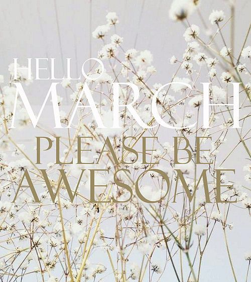 Best Collection Of Hello March Quotes Pictures, Images, Photos And  Wallpapers. Hello March