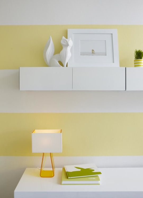 Nice Horizontal Striped Walls Paint Ideas Photos - Wall Art Design ...