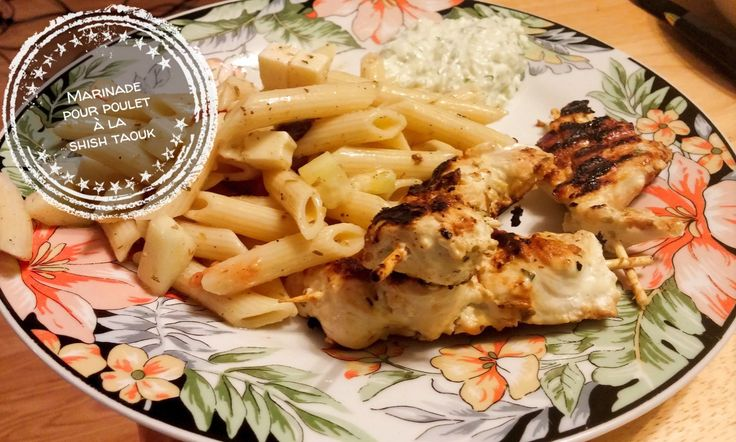 Marinade pour poulet à la shish taouk - Auboutdelalangue.com