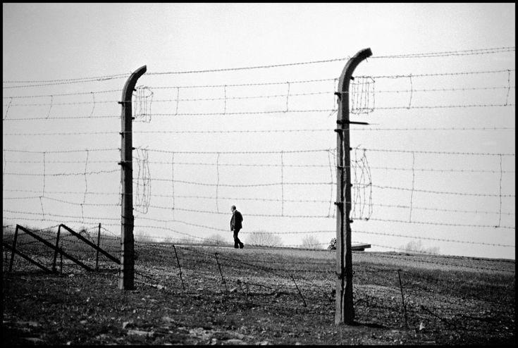 ERICH HARTMANN GERMANY. Near Weimar. 1994. Barbed wire at Buchenwald ...