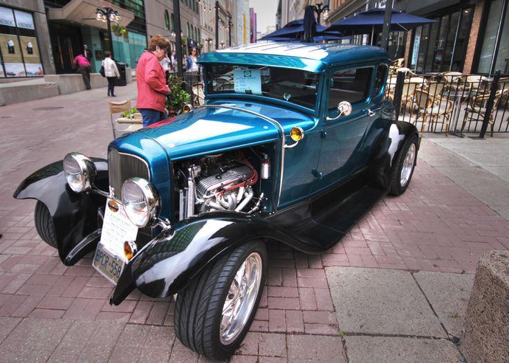 https://flic.kr/p/VgvTPm   A Five Window Coupe   5th Annual Blair Rendell Memorial Car Show, Sparks Street, Ottawa. June 3, 2017