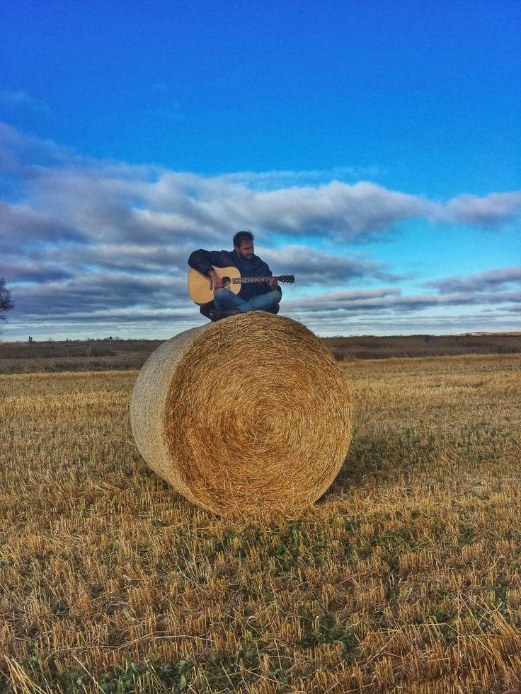 @socialtraveler enjoying the prairie landscape near Regina, Saskatchewan.