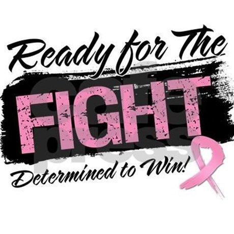 You are determined to win your battle against Breast Cancer, so wear it and display it with Ready For The Fight Breast Cancer shirts and gifts in a cool distressed style to raise awareness