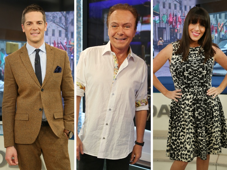 What I wore TODAY: David Cassidy, Soleil Moon Frye and Jason Kennedy