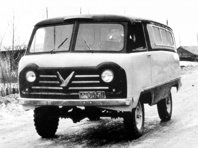 Микроавтобус Москвич