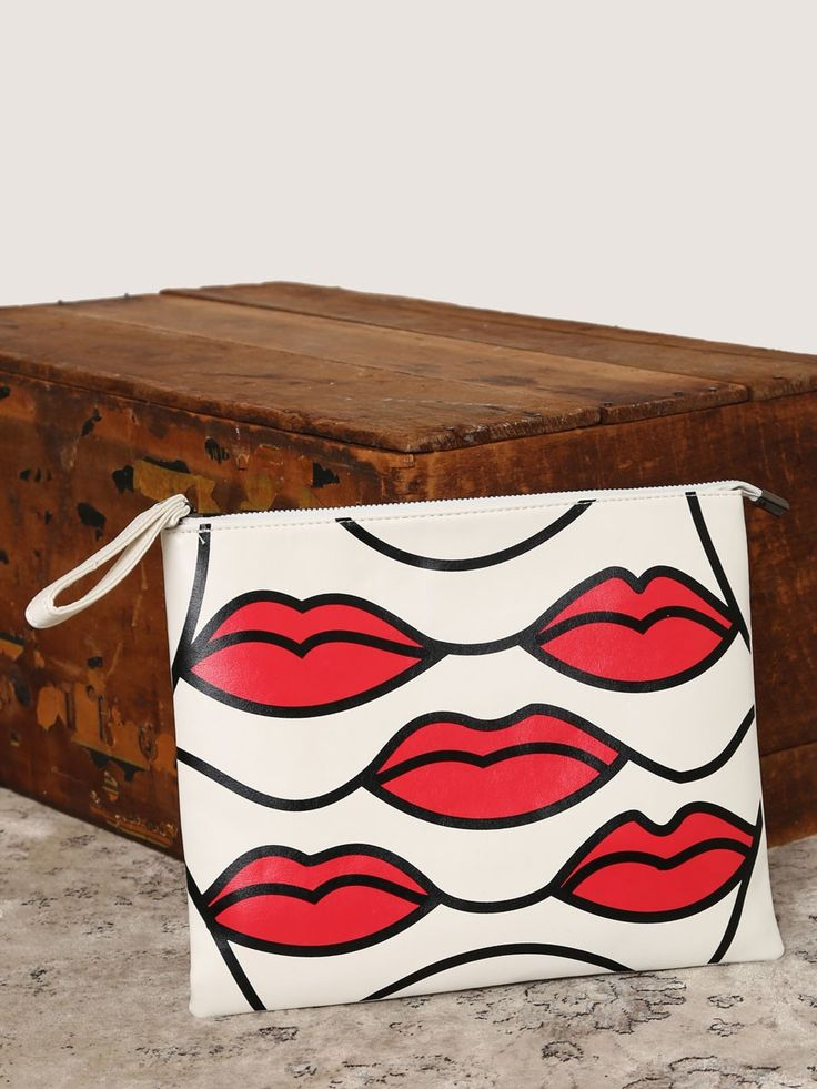 Lips Are Sealed Clutch - Gypsy Warrior