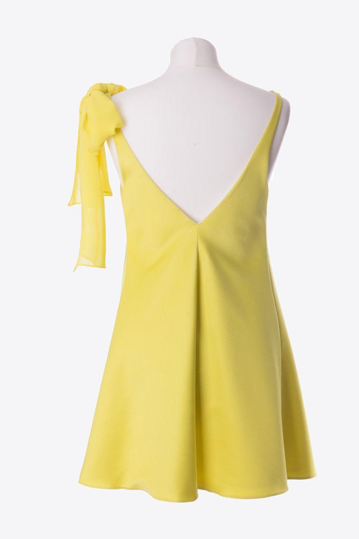 Robe jaune Rhum Raisin à emprunter