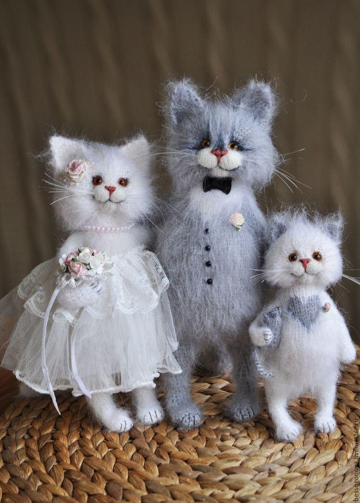 коты жених и невеста картинка важно