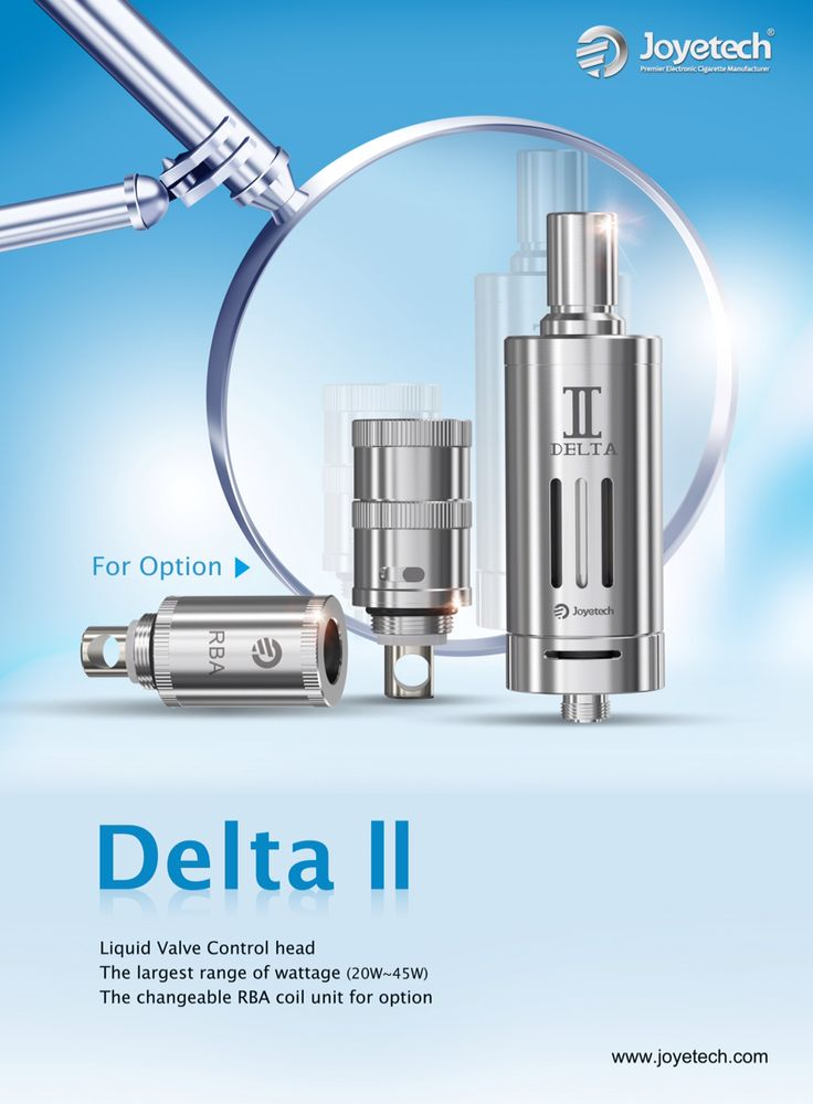 Delta II www.vapeon.eu #vapeon