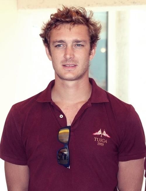 Pierre Casiraghi, son of Princess Caroline of Monaco