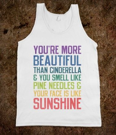 You're More Beautiful Bridesmaids Quote (Tank) Oh my gosh, bridesmaids. I want