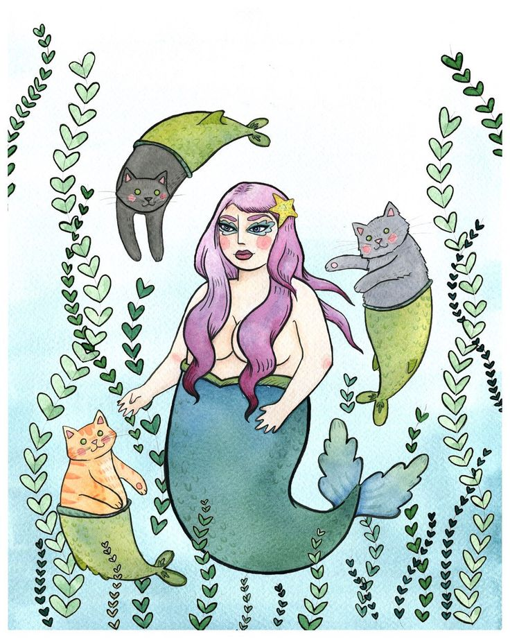 The 25 best fat mermaid ideas on pinterest fat art for Crazy mural lady