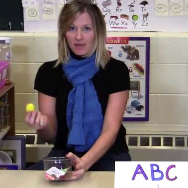 INSTRUCTION Class has letter of the week. Students pull objects out of a container, they say the word of the object, the first letter of the word, and the sound that letter makes. Class sing the letter of the week song that gives them practice using the letter and the sound. Students use letter wands to identify objects in the classroom that start with the letter and practice using the sound. Effective because lots of opportunities to help students understand the sounds that letters make.