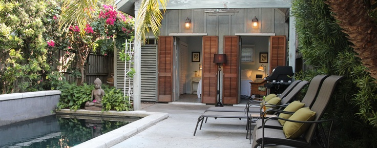 Key West Oasis is a private two bedroom/two bath rental house with pool located in charming Old Town, Key West, Florida, close to Duval street, great restaurants, bars and the beach.