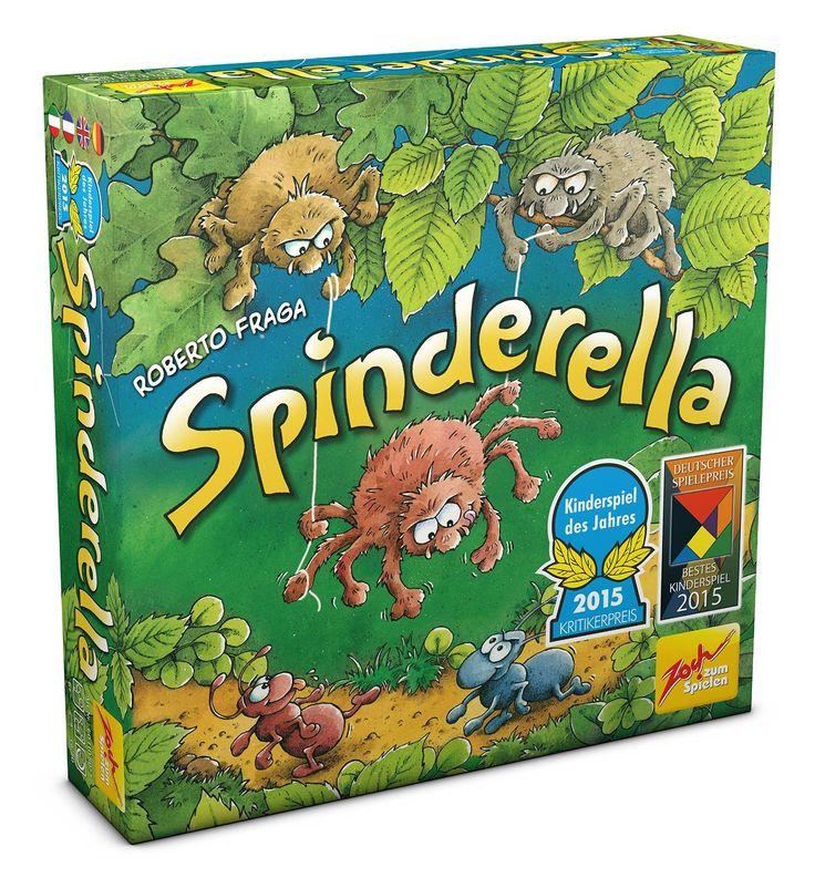 Spinderella, Kinderspiel ab 6 jahren