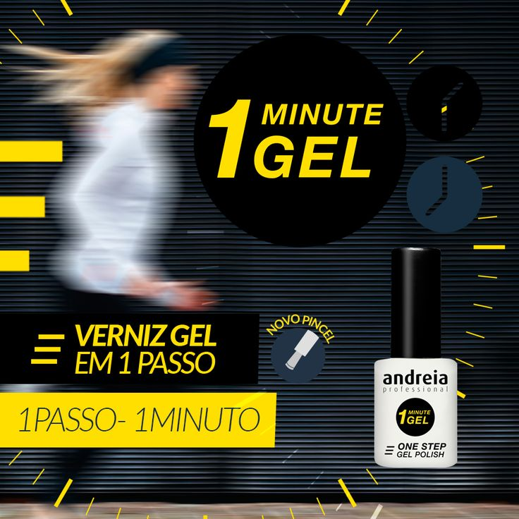 VERNIZ GEL EM 1 PASSO - 1MINUTO https://www.pluricosmetica.com/catalog/search/?s=One+Minute+Gel
