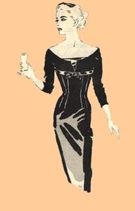 1958 Cocktail Dress