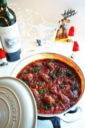 ワンランクアップレシピ★ワインと楽しむ世界の鍋 ミント入りミートボール。イランのお鍋|レシピブログ