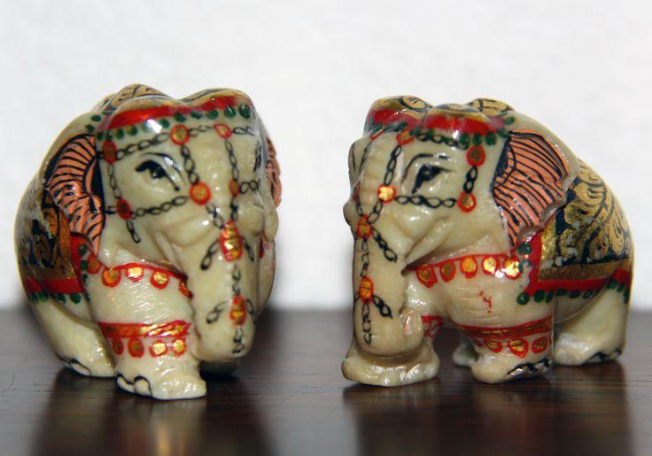 coppia di elefanti acquistati a Gwalior - anno 1997