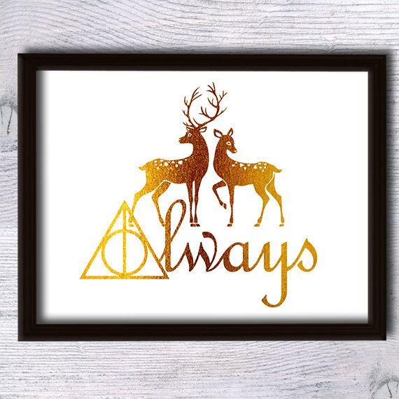 Harry Potter drucken Harry Potter Poster Harry Potter Reihe
