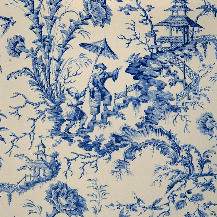21 Best Toile Wall Paper Images On Pinterest: Color Of The Month Images On
