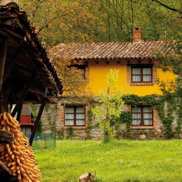 Pin de drapeados y proyectos bea en exteriores casas for Casa rural mansion terraplen seis