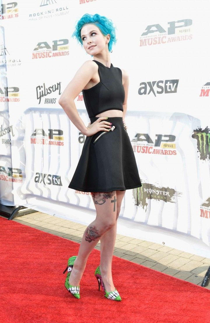 Hayley Williams: 2014 AP Music Awards