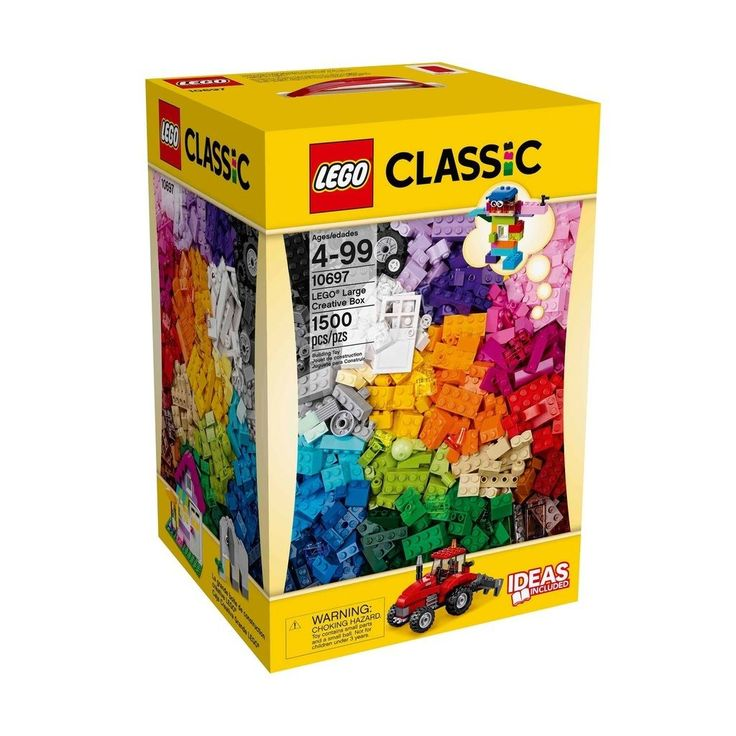 NEW LEGO CLASSIC 10697 LARGE CREATIVE BOX 1500 PCS FREE SHIPPING
