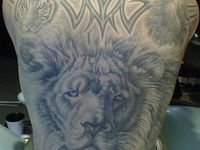 ... about Lion Tattoos on Pinterest | Jungles Largest lion and The lion