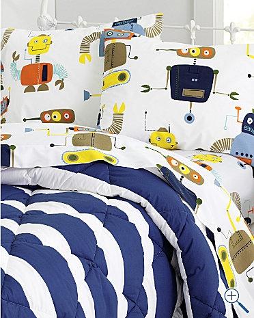 Love the Robot Bedding!