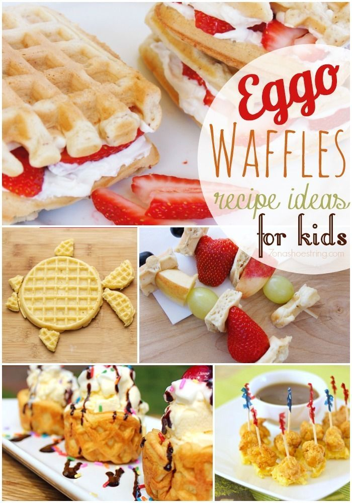What is your favorite Eggo Waffle recipe? These Eggo Waffles recipe ideas for kids are fun and tasty!