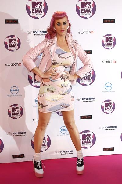 Adam Lambert, Katy Perry at MTV Europe Music Awards