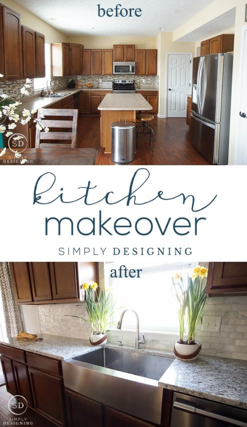 Dream Kitchen Ideas 132 best dream kitchen ideas images on pinterest dream kitchens kitchen reveal before and after photos and plan sisterspd