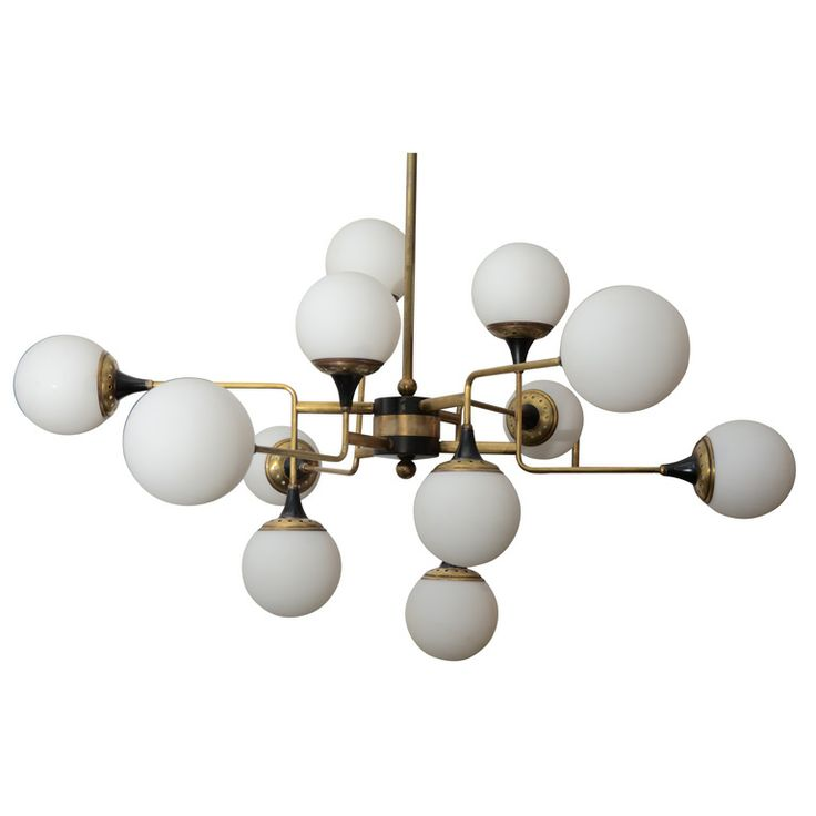 1stdibs - Italian Chandelier by Stilnovo explore items from 1,700  global dealers at 1stdibs.com