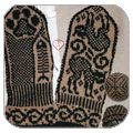 Patterns for Cat mittens... Lots of other animals and motifs, too!