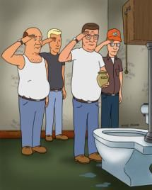 King of the Hill - Serves Me Right for Giving General George S. Patton the Bathroom Key - Twentieth Century Fox