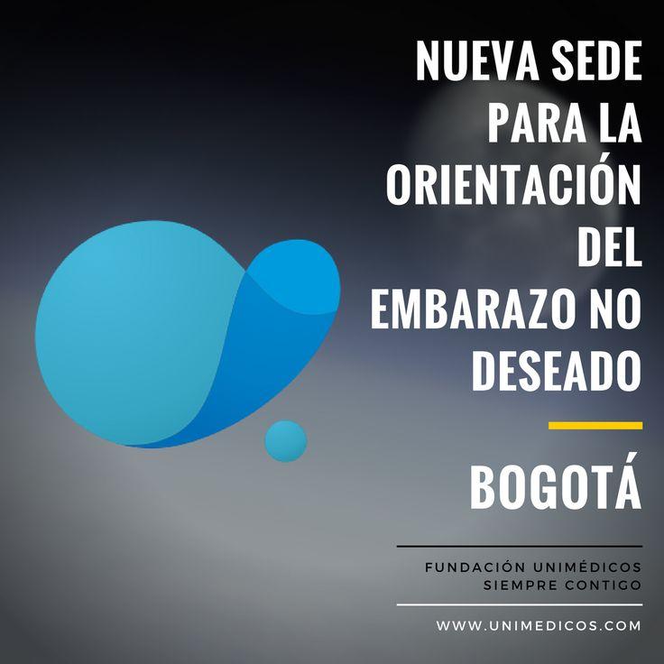 #Bogotá En nuestra nueva sede recibes orientación personalizada en caso de embarazo no deseado. Somos tu mejor opción #Aborto #AbortoSeguro #Cundinamarca #Colombia #FundaciónUnimédicos #AbortoLegal