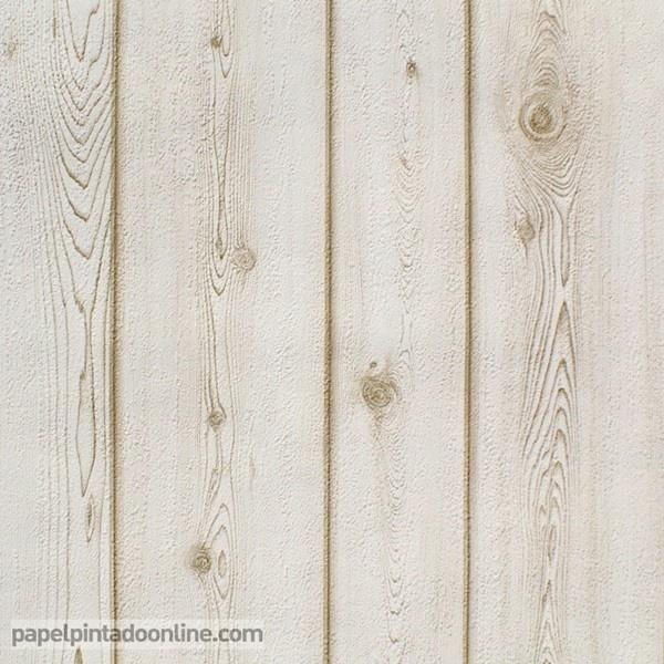 Papel pintado imitaci n madera 4301 6 pared color - Papel pintado imitacion madera ...