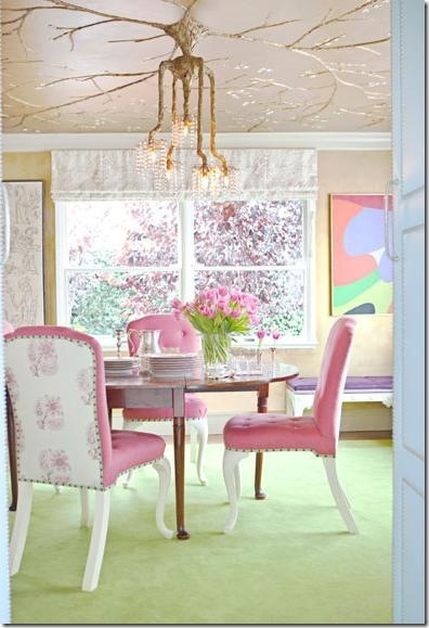 20 best pink dining rooms! images on pinterest