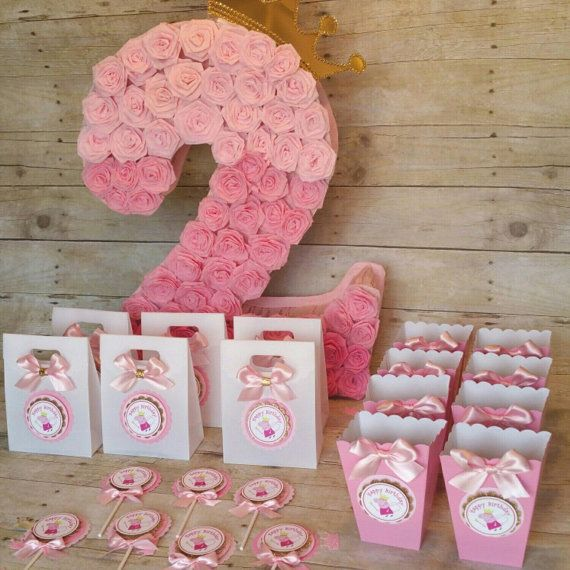 Pink and gold party Peppa pig (inspired)theme party,Peppa Pig and George ,Peppa…