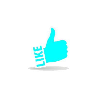 Like-symboli #somedigi