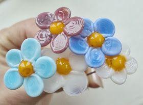 Profusion Art Glass - Handmade Lampwork Art: Nipsenåle
