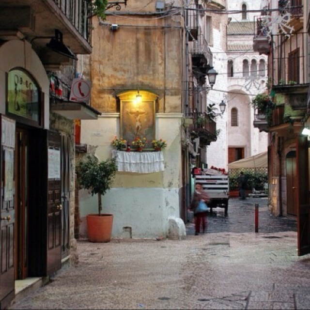 Bari, Italy - birthplace of my grandmother and grandfather - I will visit!