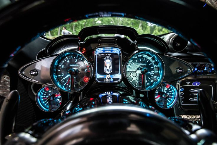 2016 Pagani Huayra Interior Good Quality Wallpaper