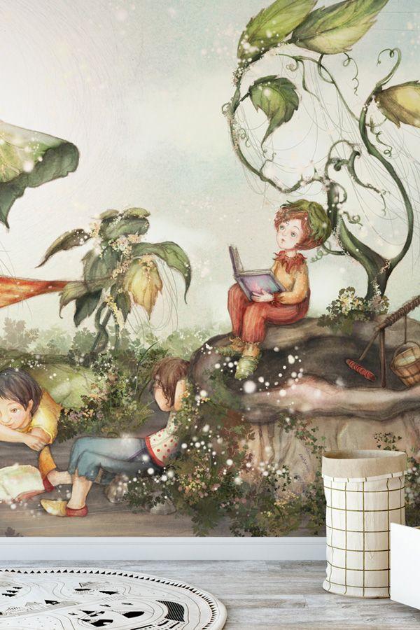 Those Good Old Summer Days Wallpaper Wallsauce Us Wallpaper Mural Wallpaper Cute Wallpapers