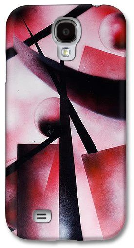 X-world Galaxy S4 Case Printed with Fine Art spray painting image X-world by Nandor Molnar (When you visit the Shop, change the orientation, background color and image size as you wish)